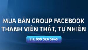 Dịch Vụ Mua Bán Group Facebook Hỗ Trợ Hoạt Động Kinh Doanh Online