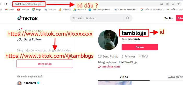 Lấy Link Tik Tok Đơn Giản Để Tăng Follow