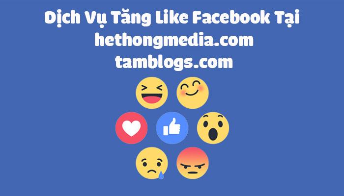 Dịch Vụ Tăng Like FaceBook - Buff Like FaceBook