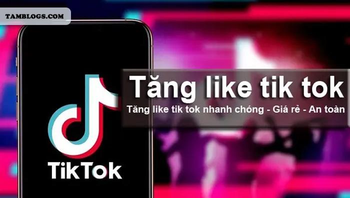 Dịch Vụ Tăng Like Tik Tok