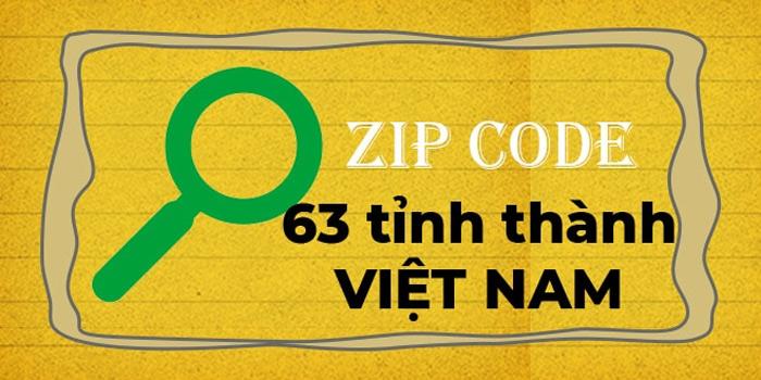 Mã bưu chính (Zip Code/Zip Postal Code)