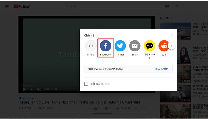 Cách Nhúng Video Youtube Vào Facebook