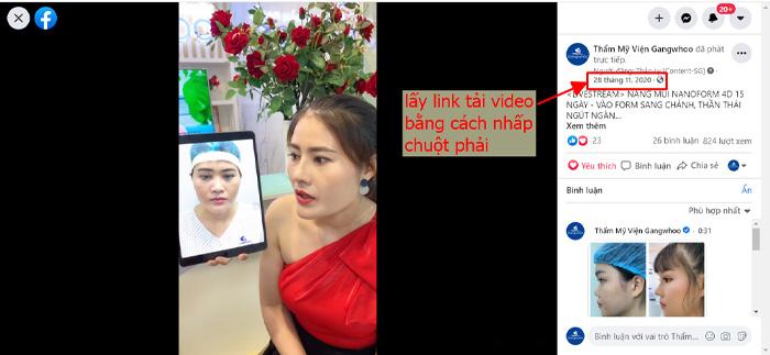 Muốn Tải Video Livestream Trên Facebook Thì Phải Biết Lấy URL Video