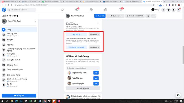 Hướng dẫn tạo blog trên facebook