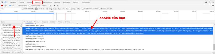 Cách Đăng Nhập Facebook Bằng Cookie