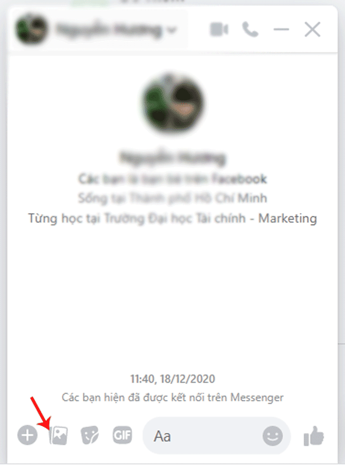 Cách Gửi Video Qua Messenger Trên Máy Tính