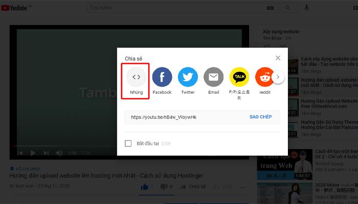Hướng Dẫn Nhúng Video Youtube Vào Website