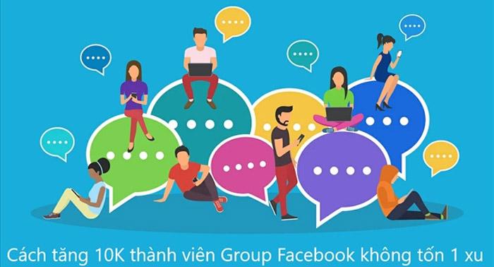 Add members - Tăng Thành Viên Group Facebook