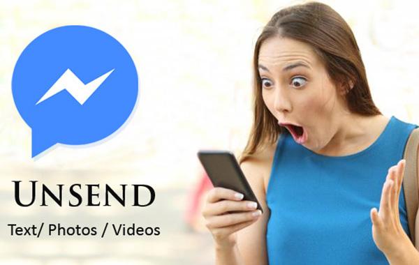 Thu Hồi Tin Nhắn, Hình Ảnh, Video Trên FB Messenger