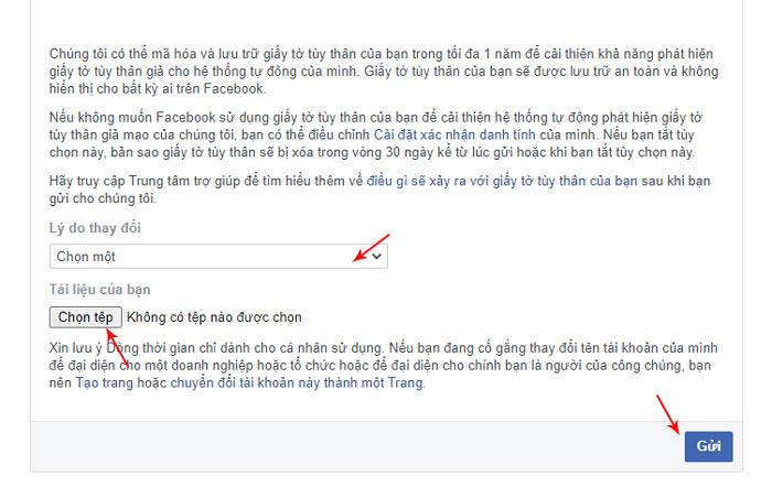 Hướng dẫn đổi tên facebook cá nhân bằng link 333