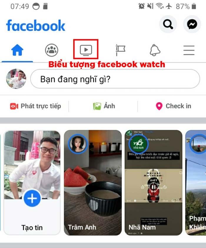 Facebook Watch xuất hiện sau khi cập nhật phiên bản mới nhất