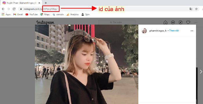 Cách lấy id instagram dễ dàng