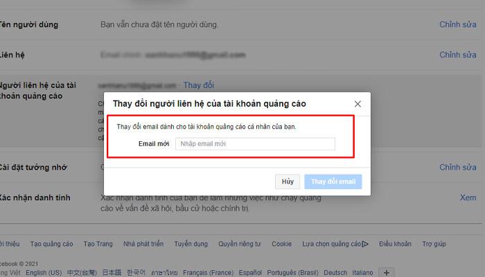 Giải quyết vấn đề không nhận được mã xác thực 2 yếu tố facebook